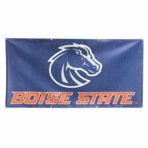 Blue & Grey Boise State Banner- Mesh 3x6
