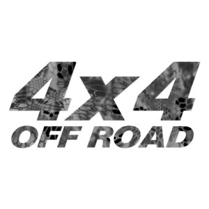Kryptek 4x4 Off Road Decal Raid