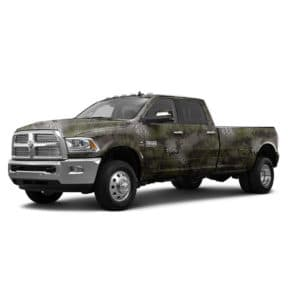 Kryptek® Dodge® Truck Wrap Altitude™ Pattern