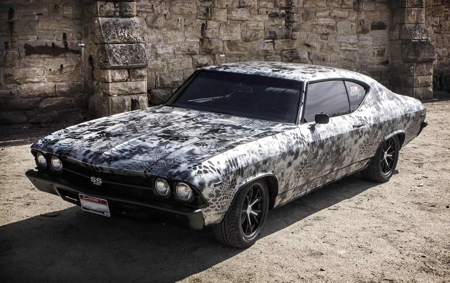 Kryptek® Metallic Silver Pattern Chevelle